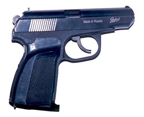 Лазерный пистолет Макарова предназначен для работы в составе лазерных стрелковых тиров.